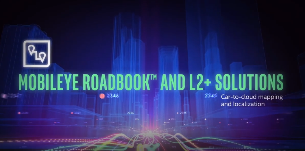 How the Mobileye Roadbook™ Enables L2+ Solutions