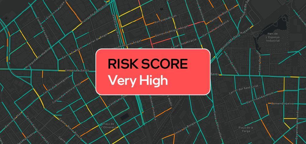 road risk score by mobileye
