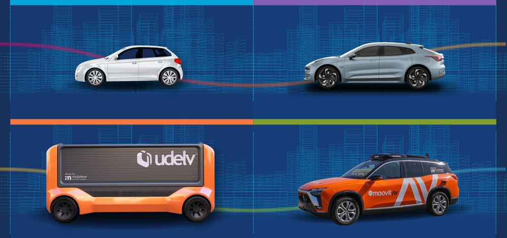 What's Driven by Mobileye: The Full Spectrum of Scalable Mobility Solutions
