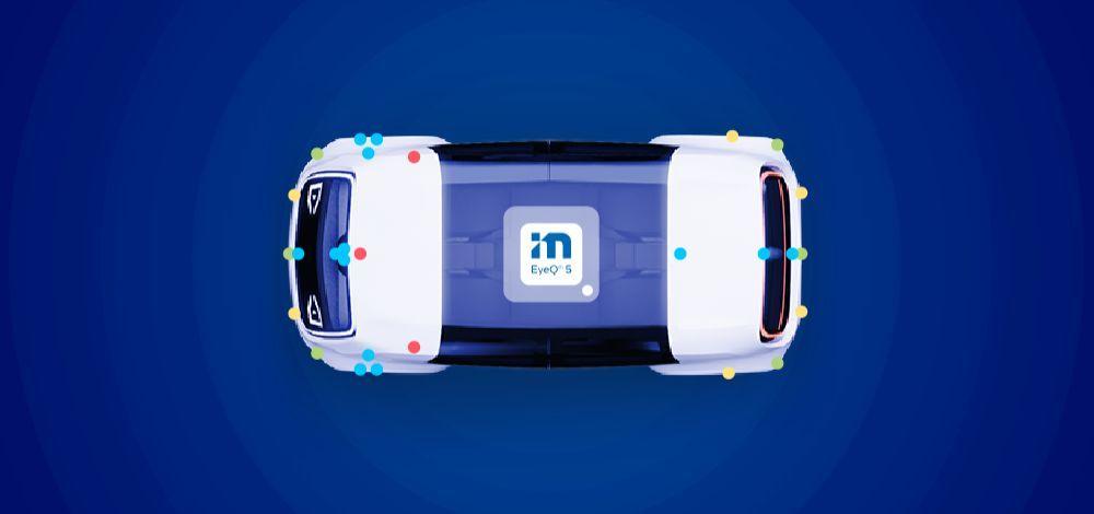 Mobileye Drive Self-Driving System illustration