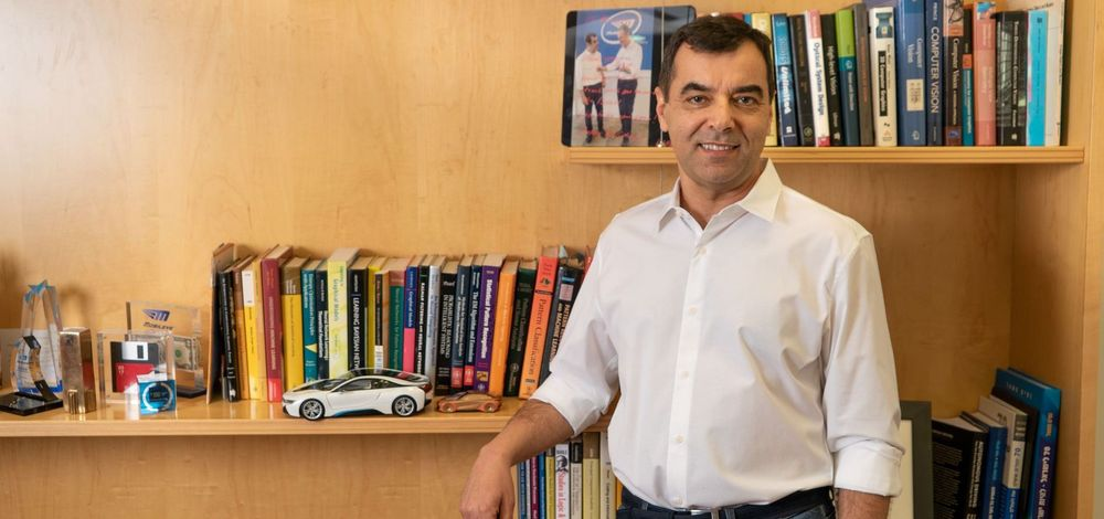 Mobileye CEO Prof. Amnon Shashua in his office