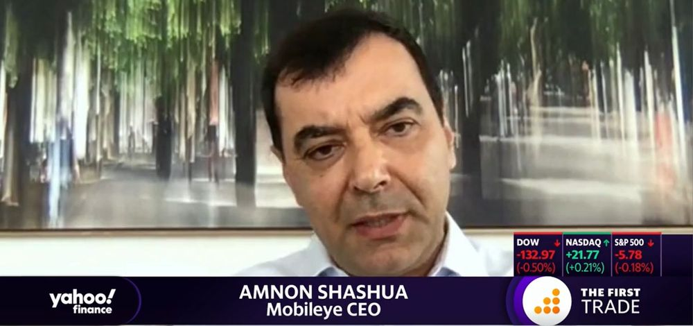 Mobileye CEO Prof. Amnon Shashua on The First Trade