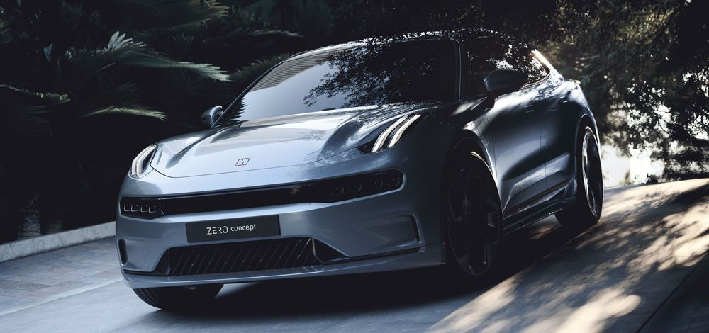 Lynk & Co Zero Concept premium electric vehicle with advanced ADAS features powered by Mobileye
