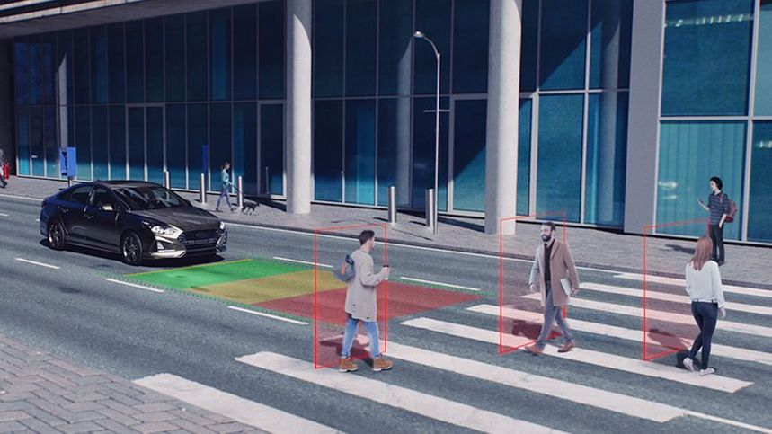 fleet solutions, collision avoidance, crosswalk, pedestrian safety