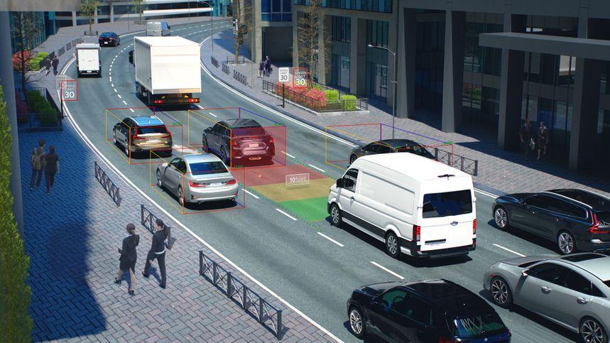 visual, proactive, collision avoidance, safety